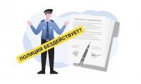 Как написать жалобу в прокуратуру на бездействие полиции?