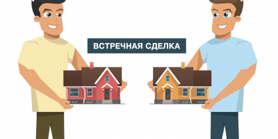 Встречная сделка купли-продажи квартиры
