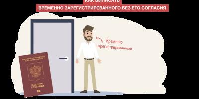 Как выписать временно зарегистрированного без его согласия? Пошаговая инструкция