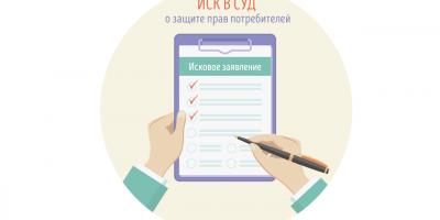 Как составить исковое заявление о защите прав потребителей в суд? Пошаговый порядок