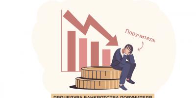 Особенности процедуры банкротства поручителя