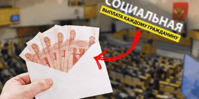 Депутаты предложили: назначить выплаты по 25 тысяч рублей каждому россиянину