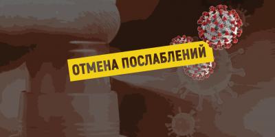 Введенные на время пандемии послабления отменились с 1 июля