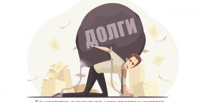 Банкротство индивидуального предпринимателя (ИП) с долгами