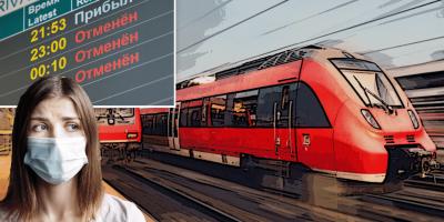 РЖД отменяет более 30 поездов дальнего следования