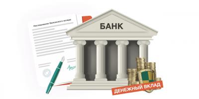 Наследование банковских (денежных) вкладов