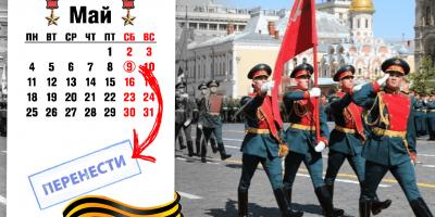 Парад в честь 75-летия со дня Великой Победы перенесен из-за пандемии коронавируса
