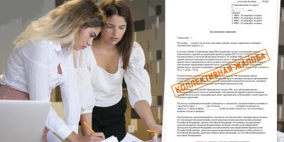 Как правильно составить коллективную жалобу? Правила написания и подачи