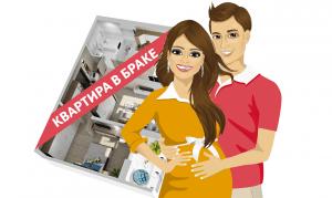 Покупка квартиры в браке на одного из супругов