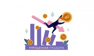 Упрощенная процедура банкротства физических лиц копия