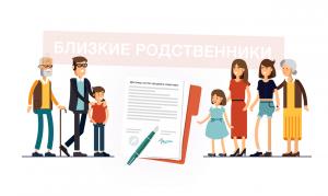 Купля-продажа квартиры между близкими родственниками