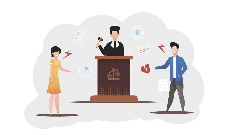 Как подать на развод через суд?
