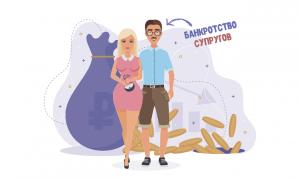 Банкротство супругов