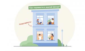 Как перевести апартаменты в жилой фонд
