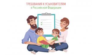 Требования к усыновителям