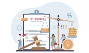 Требования кредиторов в банкротстве