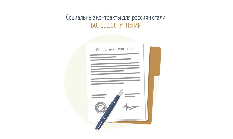 Социальные контракты для россиян стали более доступными